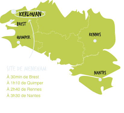 Carte - Site de Meneham