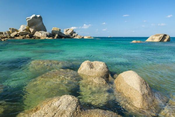 France, Finistère (29), Kerlouan, la plage près du hameau de Meneham